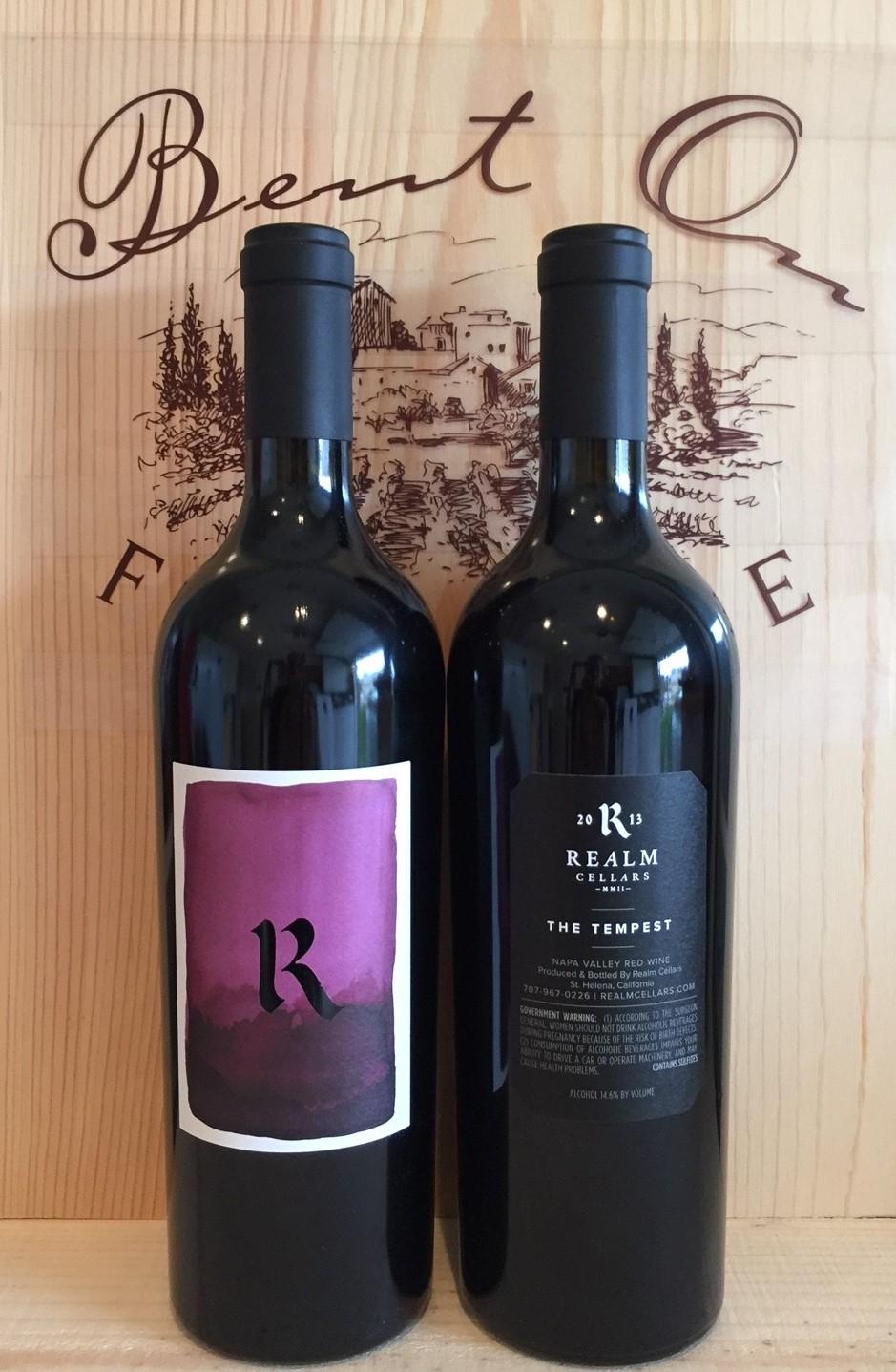 Realm Tempest 2014 Bent On Fine Wine